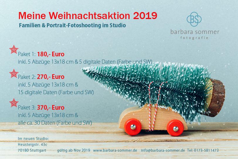 Weihnachtsfotoaktion 2019 Barbara Sommer Fotografie